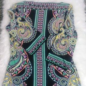 EUC ECI Dress Size M 3/4 Sleeves 71594273564sc